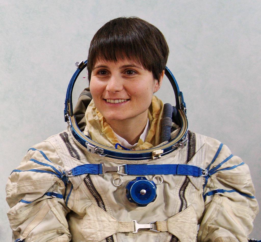 Samantha Cristoforetti Gianangelo Pistoia