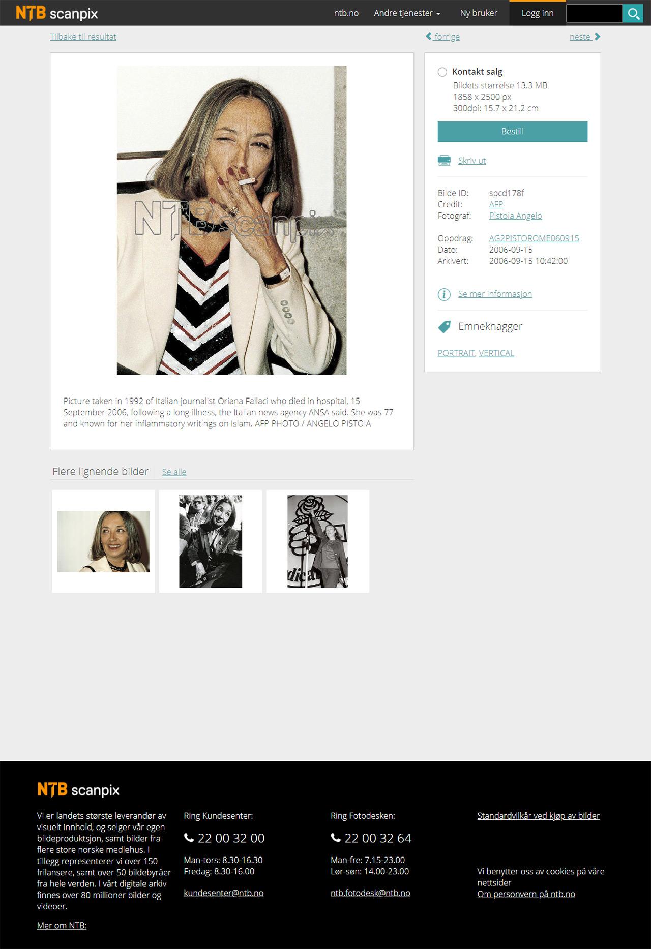 bestill bilder online