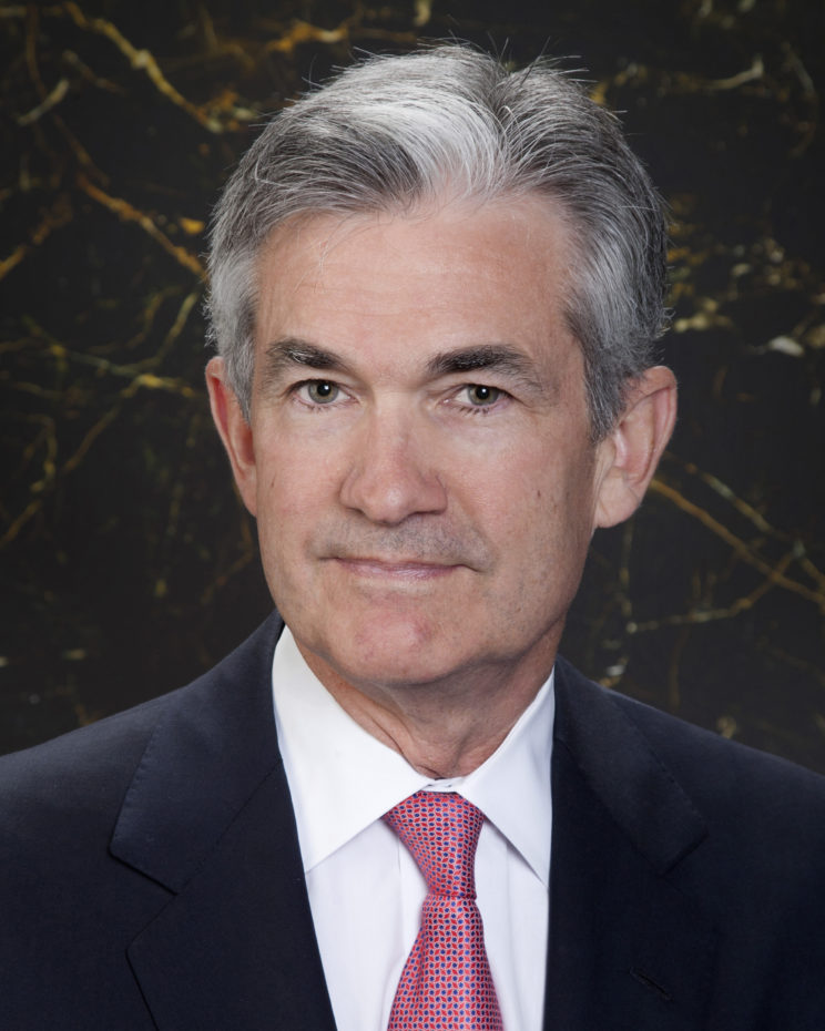 Official portrait of Governor Jerome H. Powell. Mr. Powell took office on May 25, 2012, to fill an unexpired term ending January 31, 2014.
