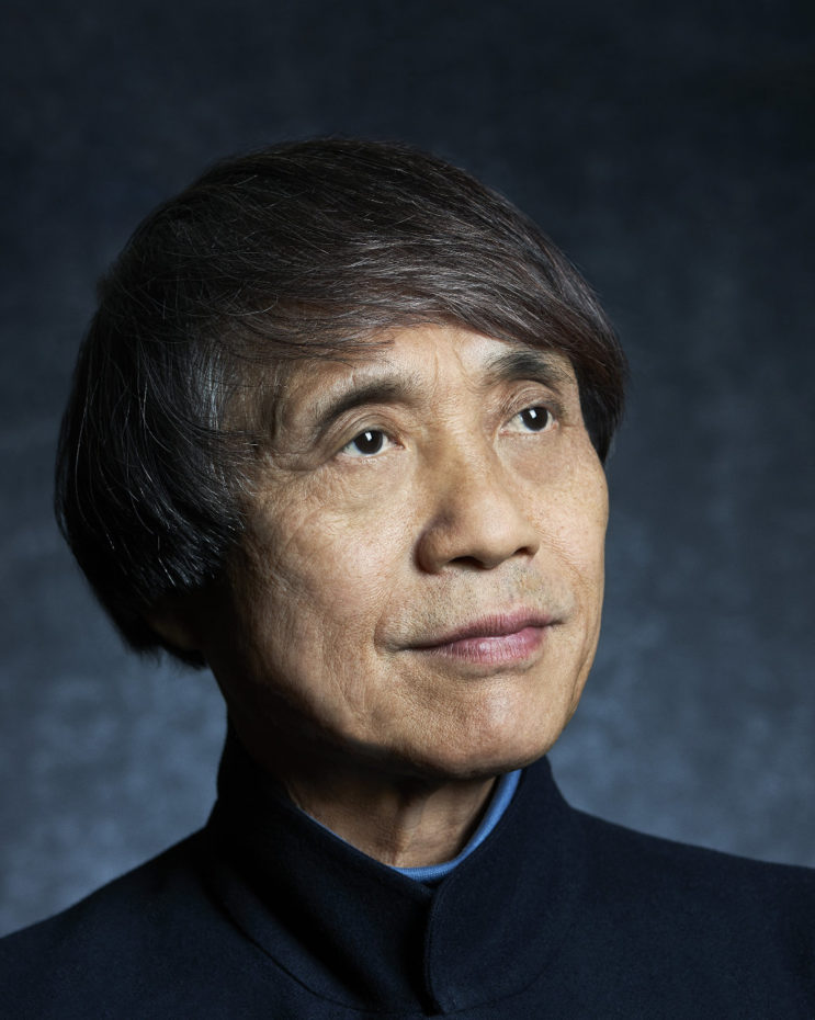 LOS ANGELES, CA - DECEMBER 18: Japanese self-taught architect Tadao Ando is photographed for Skyward on December 18, 2013 in Los Angeles, California. PUBLISHED IMAGE. (Photo by Mark Edward Harris/Contour by Getty Images)